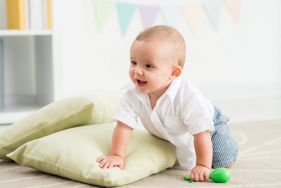 You Should Do This if Your Baby is Learning to Crawl!
